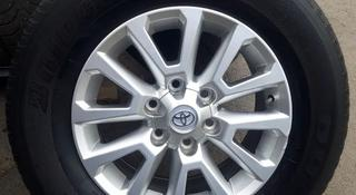 Диски с резиной Toyota prado 265/65/17 Bridgestone duller за 165 000 тг. в Алматы