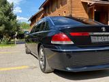 BMW 745 2003 года за 4 500 000 тг. в Алматы – фото 3