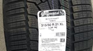 Continental contiwintercontact TS 860 S 315/30 r21 и 275/35 r21 за 640 000 тг. в Алматы