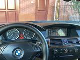 BMW 525 2007 года за 5 100 000 тг. в Туркестан – фото 3