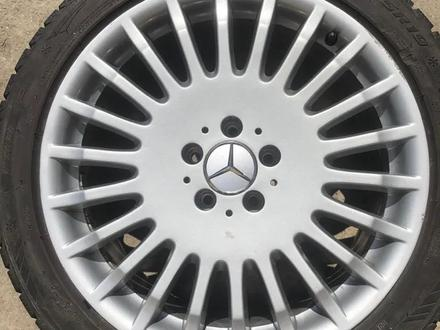 Диски от Mercedes Benz w221 s600 вместе с резиной (зима, лето). за 300 000 тг. в Алматы – фото 3