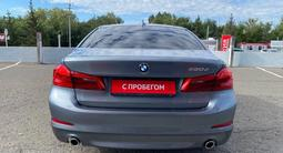 BMW 520 2019 года за 17 600 000 тг. в Павлодар – фото 4