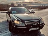Mercedes-Benz S 320 2000 года за 2 900 000 тг. в Усть-Каменогорск – фото 4
