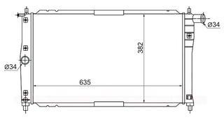 """Радиатор кондиционера BMW X5 E53 00-06 """"SAT"""" за 27 000 тг. в Алматы"""