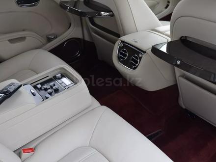 Bentley Mulsanne 2011 года за 81 000 000 тг. в Алматы – фото 14