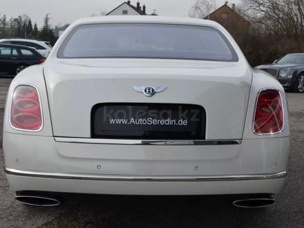 Bentley Mulsanne 2011 года за 81 000 000 тг. в Алматы – фото 5