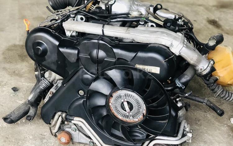 Контрактный двигатель Audi a6 c5 AYM 2.5 Tdi Из Швейцарии! за 340 000 тг. в Нур-Султан (Астана)