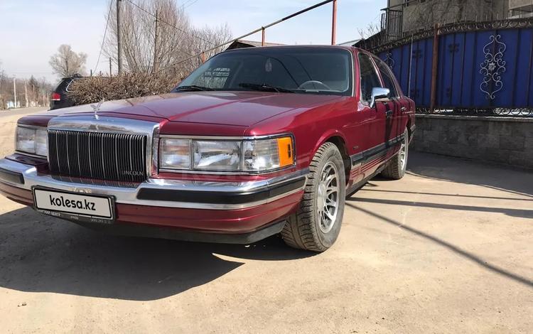 Lincoln Town Car 1990 года за 5 500 000 тг. в Алматы