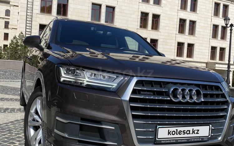 Audi Q7 2017 года за 29 000 000 тг. в Алматы
