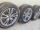 Диски с шинами 4-штук комплект с датчиками давления в шинах. за 180 000 тг. в Актау – фото 2