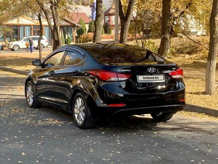 Hyundai Elantra 2014 года за 6 000 000 тг. в Алматы – фото 3