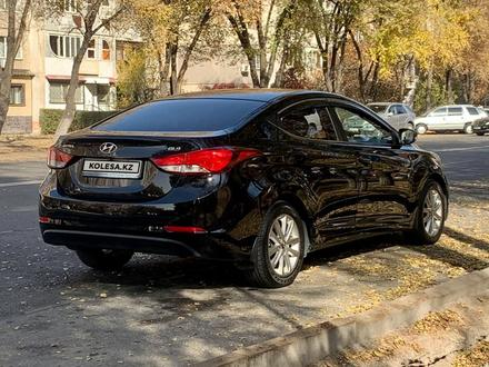 Hyundai Elantra 2014 года за 6 000 000 тг. в Алматы – фото 5