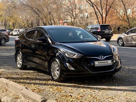 Hyundai Elantra 2014 года за 6 000 000 тг. в Алматы – фото 7