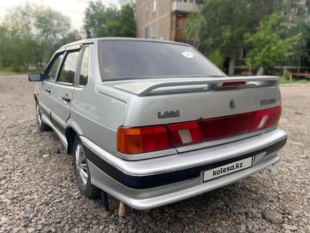 ВАЗ (Lada) 2115 (седан) 2003 года за 650 000 тг. в Караганда – фото 2