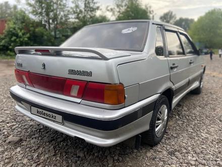 ВАЗ (Lada) 2115 (седан) 2003 года за 650 000 тг. в Караганда – фото 5