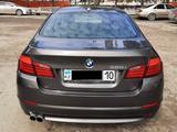 BMW 520 2013 года за 9 500 000 тг. в Костанай – фото 4