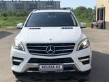Mercedes-Benz ML 400 2014 года за 13 900 000 тг. в Нур-Султан (Астана)