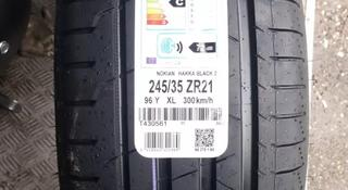 245/35 ZR 21 96y XL Nokian Hakka Black 2 летние шины. за 109 980 тг. в Алматы