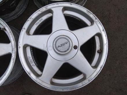 """Оригинальные легкосплавные диски """"AZEV"""" на BMW 3 (Германия R16 5* за 85 000 тг. в Нур-Султан (Астана) – фото 2"""