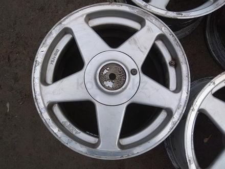 """Оригинальные легкосплавные диски """"AZEV"""" на BMW 3 (Германия R16 5* за 85 000 тг. в Нур-Султан (Астана) – фото 3"""