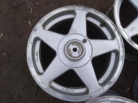 """Оригинальные легкосплавные диски """"AZEV"""" на BMW 3 (Германия R16 5* за 85 000 тг. в Нур-Султан (Астана) – фото 4"""