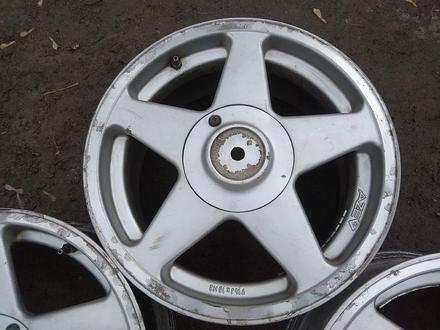 """Оригинальные легкосплавные диски """"AZEV"""" на BMW 3 (Германия R16 5* за 85 000 тг. в Нур-Султан (Астана) – фото 5"""