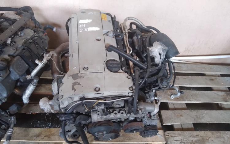 Двигатель мерседес 111 2.3 за 586 тг. в Караганда