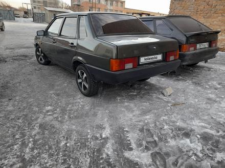 ВАЗ (Lada) 21099 (седан) 2002 года за 920 000 тг. в Семей – фото 4