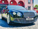 Bentley Continental GT 2015 года за 42 900 000 тг. в Алматы – фото 4