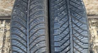 Резина б у 195*65*15 Goodyear (M + S) зима, 2 шт., б у из Европы. за 25 000 тг. в Караганда