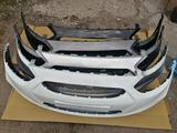 Бампера в цвет кузова. Hyundai Accent 2011-2014 за 25 000 тг. в Караганда – фото 2