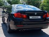 BMW 520 2014 года за 11 000 000 тг. в Алматы – фото 3