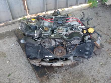 Двигатель субару 20G за 245 000 тг. в Алматы – фото 2