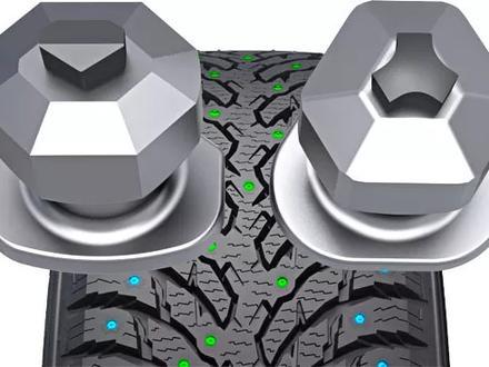 Зимние шипованные шины Nokian Hakkapeliitta 9 SUV275/45 r21 110t 315/40 r21 за 500 000 тг. в Алматы – фото 6