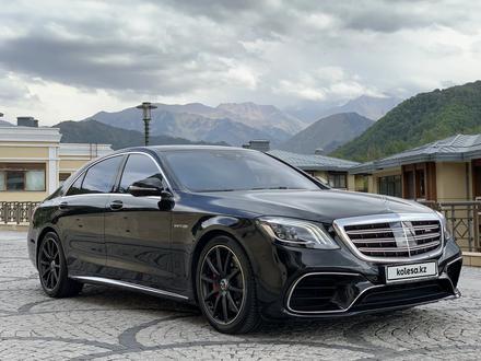 Mercedes-Benz S 63 AMG 2018 года за 55 500 000 тг. в Алматы