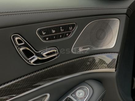 Mercedes-Benz S 63 AMG 2018 года за 55 500 000 тг. в Алматы – фото 13