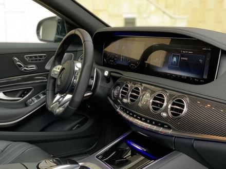 Mercedes-Benz S 63 AMG 2018 года за 55 500 000 тг. в Алматы – фото 19