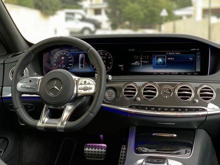 Mercedes-Benz S 63 AMG 2018 года за 55 500 000 тг. в Алматы – фото 25