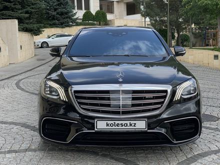 Mercedes-Benz S 63 AMG 2018 года за 55 500 000 тг. в Алматы – фото 36