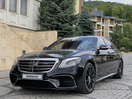 Mercedes-Benz S 63 AMG 2018 года за 55 500 000 тг. в Алматы – фото 4