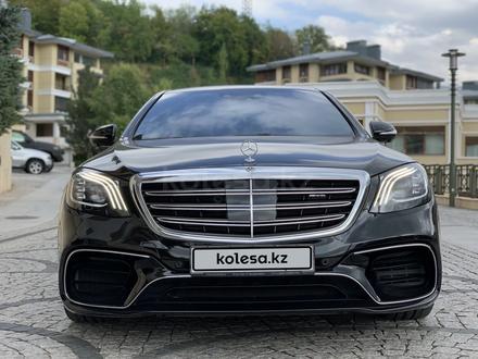 Mercedes-Benz S 63 AMG 2018 года за 55 500 000 тг. в Алматы – фото 5