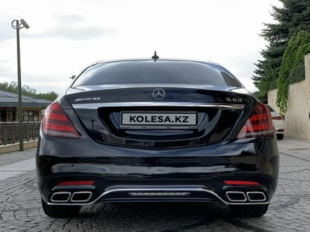 Mercedes-Benz S 63 AMG 2018 года за 55 500 000 тг. в Алматы – фото 7