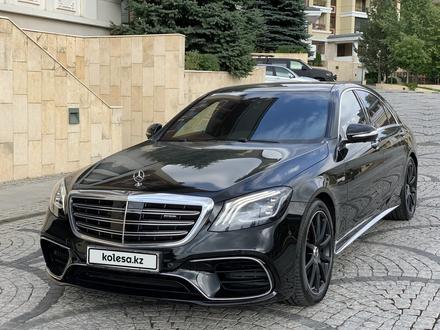 Mercedes-Benz S 63 AMG 2018 года за 55 500 000 тг. в Алматы – фото 9