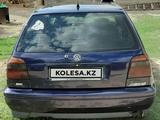 Volkswagen Golf 1995 года за 1 300 000 тг. в Тараз – фото 3