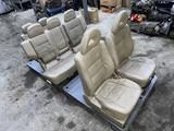 Комплект сидений на Мицубиси паджеро 3 за 250 000 тг. в Алматы – фото 3