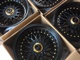 BBS RS matt Black 17/5/112 G8.5-10 Et 15-25 за 300 000 тг. в Алматы
