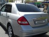 Nissan Tiida 2008 года за 2 900 000 тг. в Алматы – фото 5