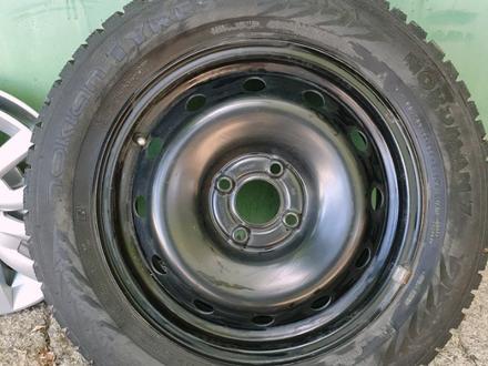Nokian nordman 7 185/65/R15 колёса в сборе за 100 000 тг. в Караганда – фото 2