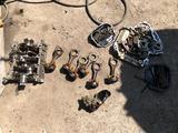 Головка блока масленый насос коленвал шатун поршень за 100 тг. в Алматы – фото 2
