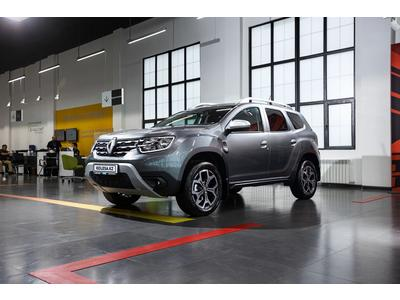 Renault Duster Style TCE CVT (4WD) 2021 года за 10 262 000 тг. в Нур-Султан (Астана)
